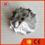 TD04HL 19T 46.02/58.00mm 5+5 boleto do turbocompressor das lâminas 49189-X/roda de trituração do compressor