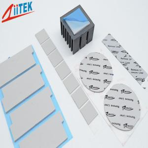 China Ultra Thin Thermal Conductive Pad Silicone Free Gap Filler Pad 1.5W 1.5mmT Zpaster160-15-02S on sale