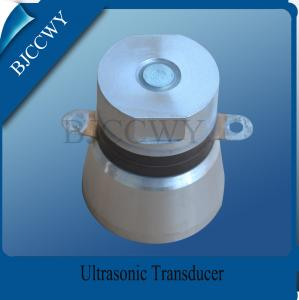 China Multi Frequency Ultrasonic Transducer 40 KHZ For Ultrasonic Jewelry Cleaner on sale