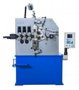China High Efficient CNC Spring Coiler Machine Wire Feeding Axis And Cam Axis supplier