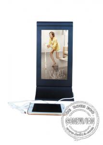 China Cell Phone Charging Station Kiosk  Restaurant Lcd Advertising Player display digital signage mobile charging station on sale