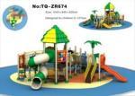 Stylish Little Kids Outdoor Playground Equipment For Amusement Park TQ-ZR674