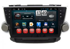 China Android System TOYOTA GPS Navigation With 3G WIFI Bluetooth Camera Input on sale