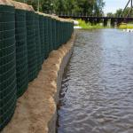 W2m Galvanized Army Military Gabion Flood Barrier Defense