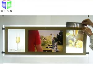China Ceiling Hanging LED Acrylic Sheet Light Box 1300 MM X 900 MM Energy Saving on sale