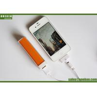 Pocket Lipstick 18650 Power Bank For Smartphones / Mobile Phone Portable Charger