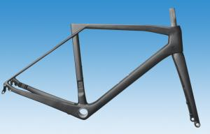 Quality Di2 Aero Carbon Road Bike Frame of Internal Routing Superlight / Normal Weight for sale