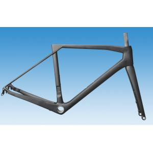 Quality Di2 Aero Carbon Road Bike Frame of Internal Routing Superlight / Normal Weight by UD Matte Finish HT-R396 for sale