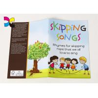 Shipping SongS paperback book for kid printing colorful design sofecover glossy art paper book
