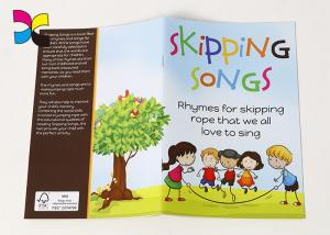 China Shipping SongS paperback book for kid printing colorful design sofecover glossy art paper book on sale