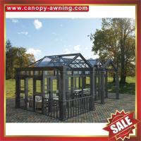 excellent Prefab tempered glass house,solar sunroom,sunrooms,sunhouse,aluminum room,aluminium house-long life for usage!