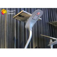 Road Solar Powered LED Street Lights With Die - Cast Aluminum Lamp Head