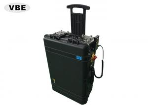 China High Power Cell Phone Signal Jammer Hand Pull Box Design For CDMA / GSM / DCS on sale