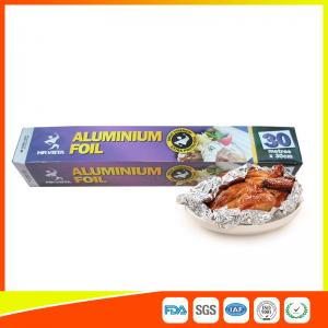 China Disposable Food Grade Aluminum Foil Sheets Oil Resistant , Aluminium Sheet Roll on sale