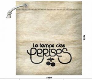 Quality Reusable Foldable Shopping Bags cotton drawstring promotion bag G2232 for sale