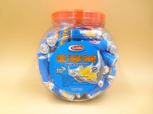 China Papel hecho a mano del caramelo 7g Alumimum de la tableta de la leche del rollo redondo del anillo lleno on sale