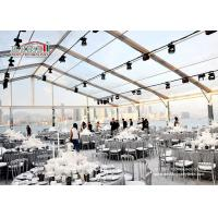 Transparent Clear Roof Outdoor Event Tents / Garden Wedding Marquee Large Capacity