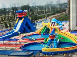 China largest inflatable water slide adult size inflatable water slide inflatable trippo slide on sale