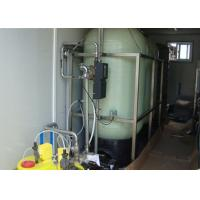 Mobile Containerized Brackish Water Reverse Osmosis Systems for  drinking 6m3 / hour