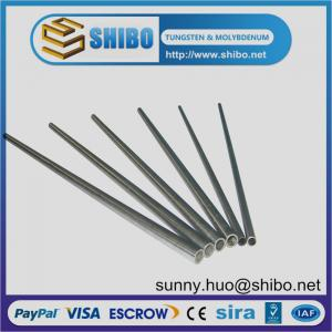 China Pure molybdenum tube, moly tube,Mo pipe on sale