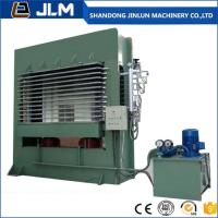 china shandong jinlun brand hot sell good quality 400t .500t 15 layer plywood making machine Hydraulic hot Press machine