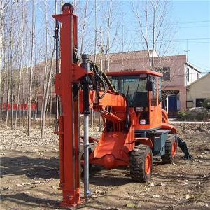 China Hot sale hole drilling machine with various ground screw size on sale