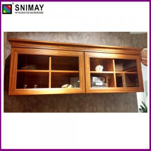 ... Quality Wooden Corner Tv Cabinet With Doors , Modern Mahogany Tv Stand  For Sale ...