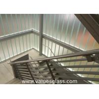 China Low Iron Tempered U Shaped Glass 262(W)X60(H)X7(T) Mm Dimension Building Material on sale