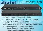 30 CHANNEL PHONE 4ETH 4E1(75 ohm/120 ohm) PCM MUX support 1+1 backup OPT