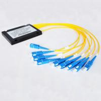 1x16 ABS box Type PLC optical Splitter, FTTH splitter/coupler