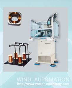 China Shaded 4poles motor stator coil winding needle segmented muti-pole stator winder WIND-1A-TSM on sale