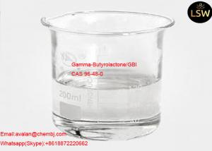 China 99% Purity Colorless Liquid Gamma - Butyrolactone / GBL CAS 96-48-0 on sale