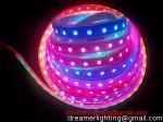 Luz de tira do diodo emissor de luz do RGB 5M da cor 5050 ideais, controlador da Sonho-cor e tira instantâneos do RGB