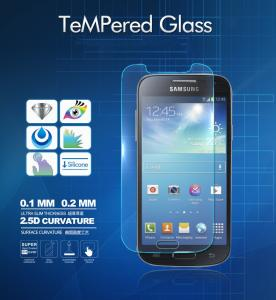 China Top Quality 0.3mm 2.5D rounded edge tempered glass for samsung galaxy s4 mini i9190 on sale