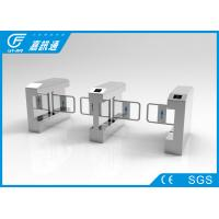 Dual Direction Swing Gate Turnstile 304 Grade Stainless Steel Housing Self - Check Function