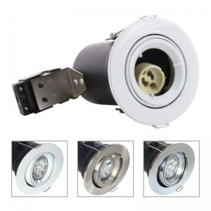 China China GU10 Aluminium Centre Tilt LED Fire Rated Downlight - White Color on sale