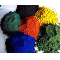 China Iron Oxide Red Brown Black Yellow Pigments for Ceramic Tiles/Concrete Coloring on sale