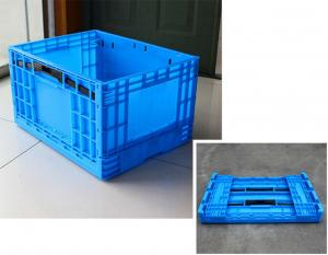 China 600*400*175 Durable, lightweight utility collapsible fold crate  from combine packing transporting on sale