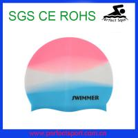 Mix Color Adult Style Swimming Cap for 2014 Winter Swimming