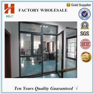 China Foshan HLC factory doors with windows that open on sale