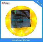 Luz solar plástica do cone do tráfego dos olhos de gato da estrada Stud/LED do CE IP68 ASD-011