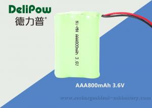 China 3.6V AAA NIMH Rechargeable Battery Pack For Power Tools 800mAh  on sale