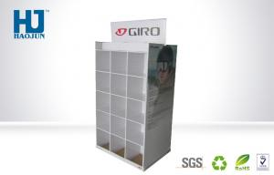 China Double Sided Cardboard Pallet Display Stand For Sport Eyewear Ideal on sale