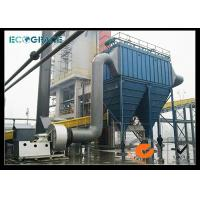 Pulse Jet Dust Collector Baghouse Filter , Housing Industrial Filters Bag