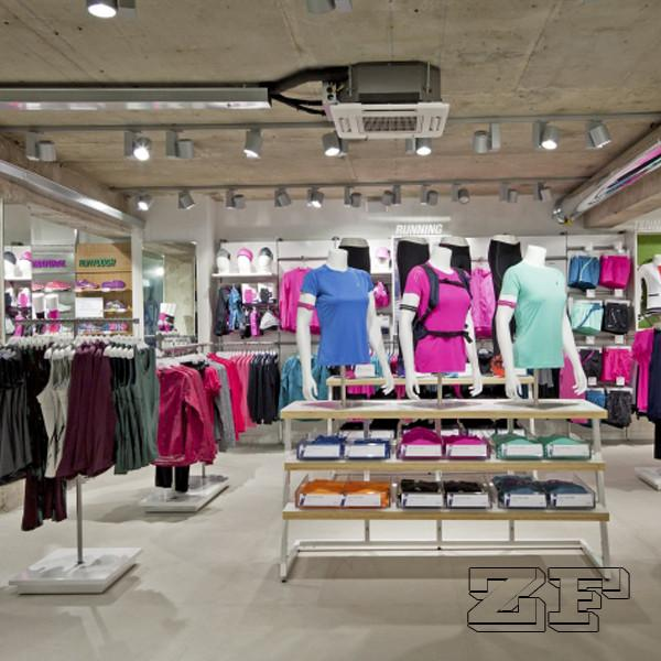 Fashion Retail Sports Garment Shop Interior Design for sale – Sport ...