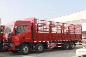 China Red Small Cargo Truck , Small Commercial Vehicles With l2000 Cabin on sale