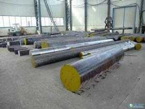 China C45 / 42CrMo4 High Tensile Alloy Steel Forged Round Bar Carbon Steel For Draw Bar Diameter 200 - 1200 mm on sale