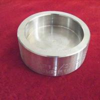 China ASTM A403 WP321H Sch80 ASME B16.9 Butt Welding Stainless Steel Pipe Cap on sale