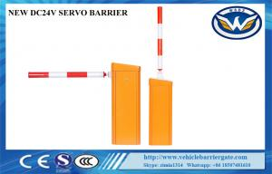 China Solar Powered DC24V Security Traffic Barrier Gate For Toll Gate System on sale