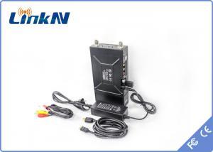 China Manpack Digital Long Range Wireless Transmitter For Police Mobile Vehicle Video Transmission on sale